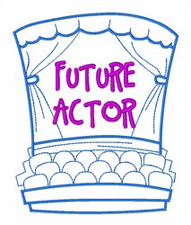 Actor Theatre Department embroidery design