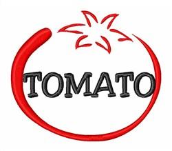 Organic Tomato embroidery design