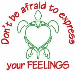 Love Turtles Animal embroidery design