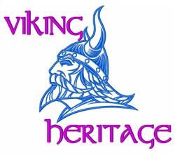 Viking Heritage Seafarer embroidery design