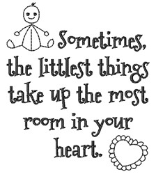 Room In Your Heart embroidery design