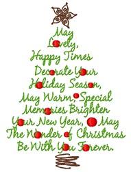 Christmas Memories embroidery design