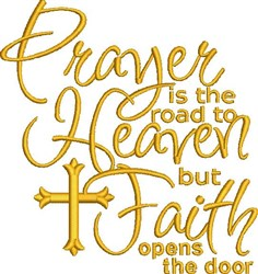 Road To Heaven embroidery design