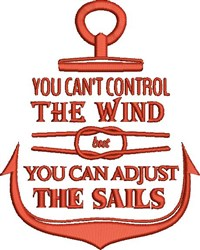 Control The Wind embroidery design