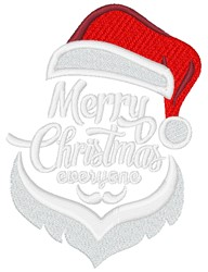 Merry Christmas Everyone embroidery design