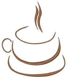 Hot Beverage embroidery design