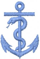 Anchor 2 embroidery design