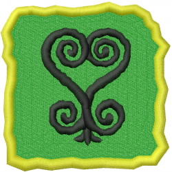Learn From Your Mistakes Adinkra embroidery design