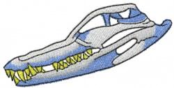 Alligator Skull embroidery design