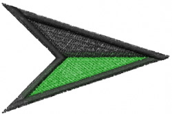 Arrow Geometric embroidery design