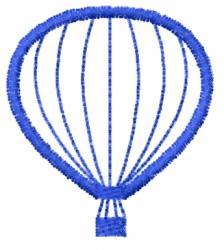 Balloon Outline embroidery design