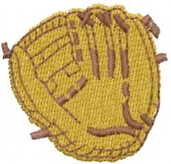 Baseball Glove 1 embroidery design