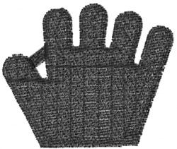 Baseball Glove 10 embroidery design