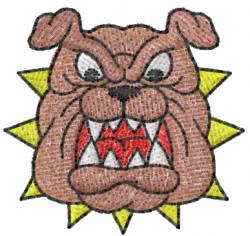 Bulldog 2 embroidery design