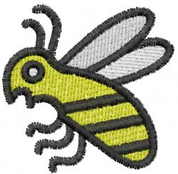Pueblo Bee embroidery design