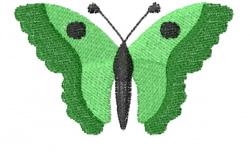 Butterfly 8 Gypsy Jade embroidery design