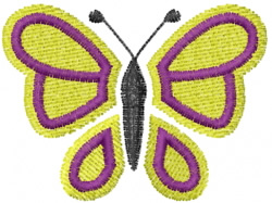 Butterfly 20 Royale embroidery design