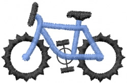 Mountain Bike embroidery design