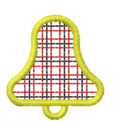 Bell 61 embroidery design