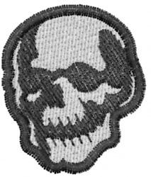 Skull 16 embroidery design