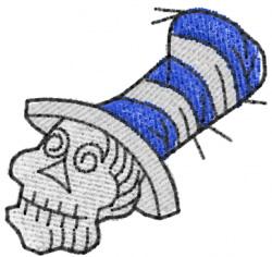 Skull 8 embroidery design