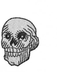 Skull 9 embroidery design