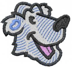 Polar Bear Head embroidery design