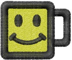 """Your Smiling Mug"" embroidery design"