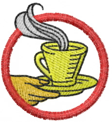 Have Another Cup … embroidery design