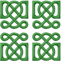 Celtic Knot Square 1 embroidery design