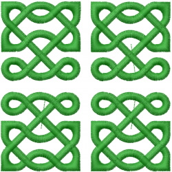 Celtic Knot Square 2 embroidery design