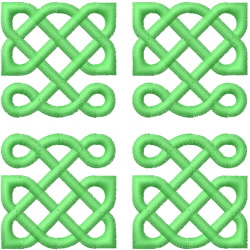 Celtic Knot Square 3 embroidery design
