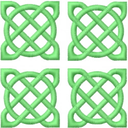 Celtic Knot Square 11 embroidery design
