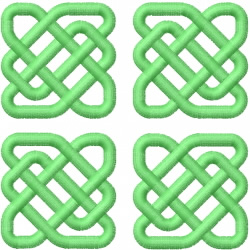 Celtic Knot Square 15 embroidery design