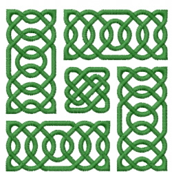 Celtic Knot Square 31 embroidery design