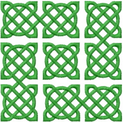 Celtic Knot Square 32 embroidery design
