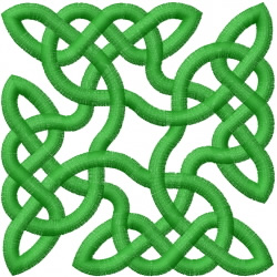 Celtic Knot Square 38 embroidery design