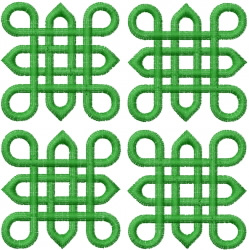 Celtic Knot Square 41 embroidery design