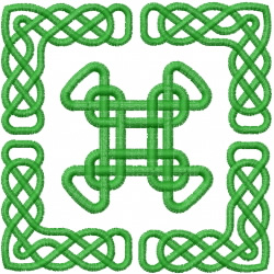 Celtic Knot Square 45 embroidery design