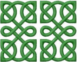 CELTIC KNOT SQUARE 46 embroidery design
