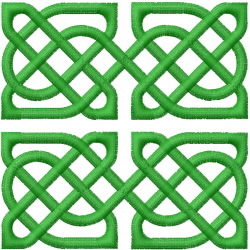 CELTIC KNOT SQUARE 60 embroidery design