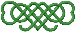 CELTIC HEART KNOTS embroidery design