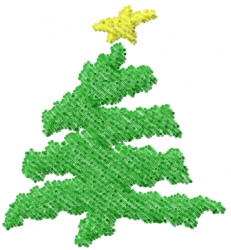 Christmas Tree 2 embroidery design