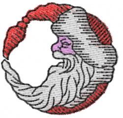 Santa 1 embroidery design