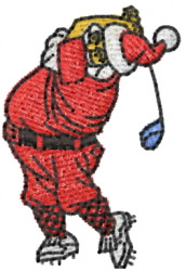 Santa 2 embroidery design