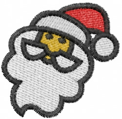 Santa 3 embroidery design