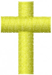 Latin Cross embroidery design