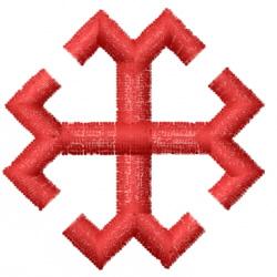 Millrine Cross embroidery design