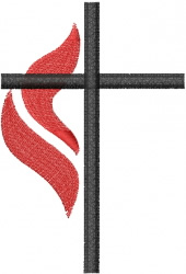 METHODIST CROSS 1 embroidery design