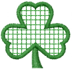 Clover 18 embroidery design